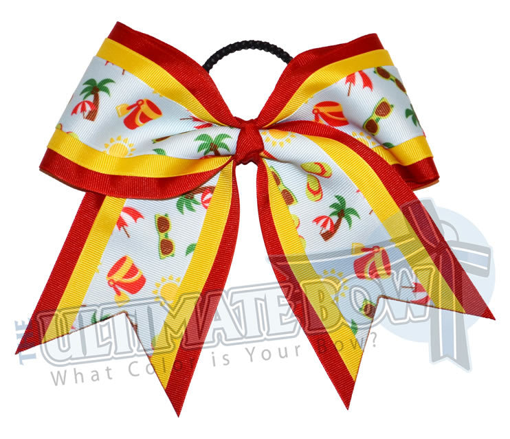 summertime-beach-cheer-bow-cheer-camp-red-yellow-beach-ribbon
