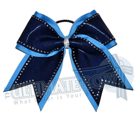 Superior-borderline-bling-rhinestone-cheer-bow-navy-copen-mystic-diva-columbia-blue