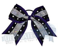 Superior-dazzle-dots-purple-black-silver-sequins-polka-dots-cheer-bow
