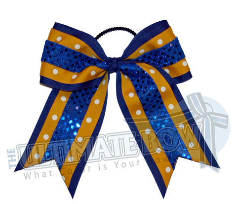 Superior-dazzle-dots-yellow-gold-royal-blue-sequins-polka-dots-cheer-bow