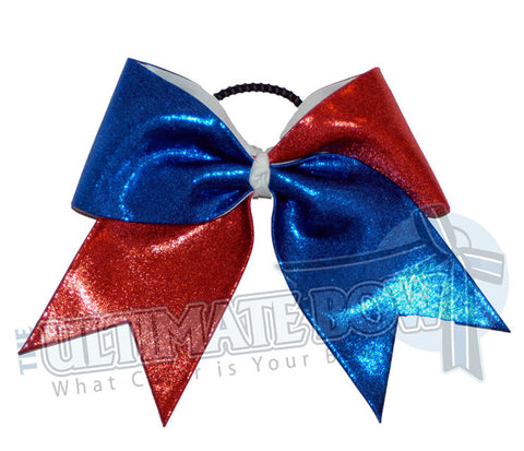 Superior Diva Splits | Mystic Material Cheer Bow