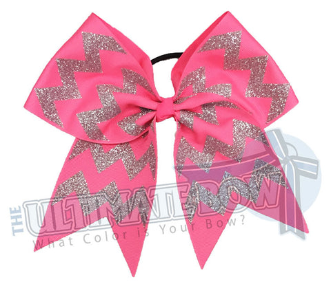 glitter-chevron cheer-bow-pink-glitter-softball-sparkle-breast-cancer-pink