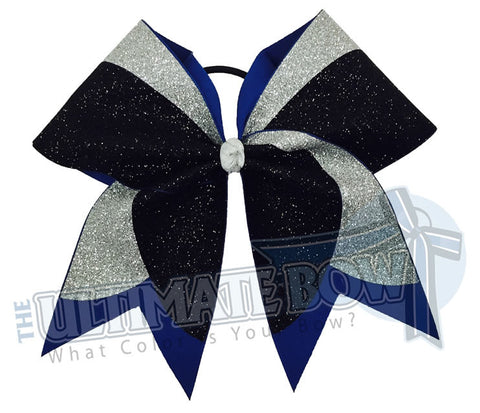 superior-texas-sized-cheer-bow-glitter-black-silver-royal-softball