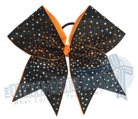 Superior Glitter Rhinestone Blast Cheer Bow | Rhinestone Competition Cheer Bow