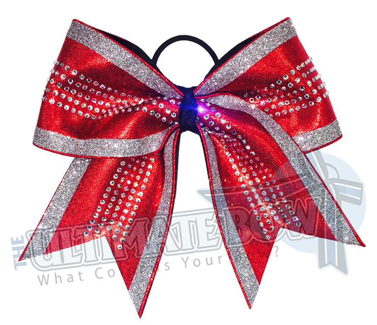 red-mystic-mystique-glitter-trimmed-silver-rhinestones-cheer-bow-superior-texas-sized