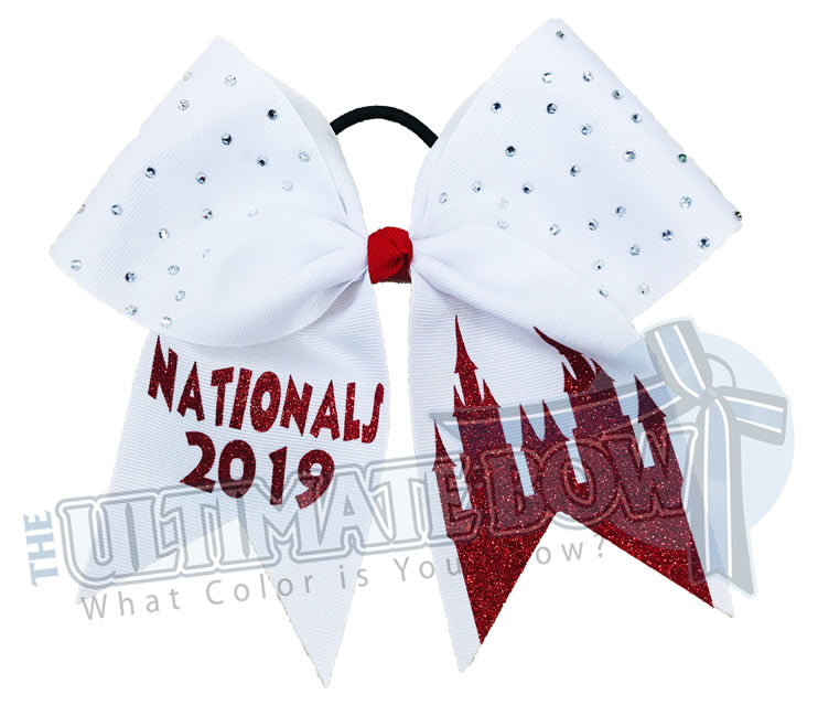 princess-castle-white-red-cinderella-disney-orlando-rhinestone-cheer-bow-2019