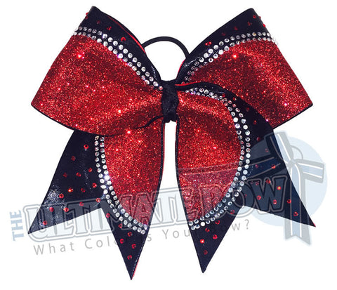 Superior Rhinestone Champion Cheer Bow | Competition Cheer Bow