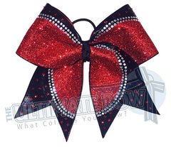 Superior-rhinestone-champion-red-glitter-black-mystic-diva-rhinestones-red-clear