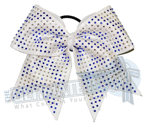 superior-rhinestone-chevron-cheer-bow-big-white-bow-cobalt-blue-rhinestones