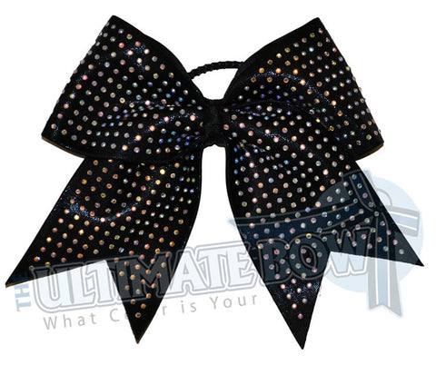 Superior Rhinestone Extreme | Mystic Competition Cheer Bow | Rhinestone Cheerleading Bow