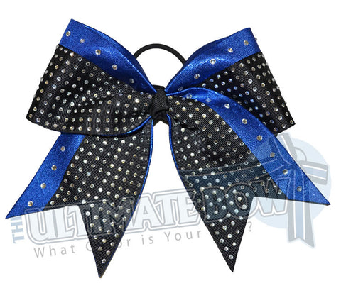 Superior Rhinestone Glam | Mystic Cheer Bow | Rhinestone Competition Cheer Bow