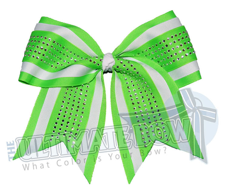 superior-rhinestone-grace-neon-green-white-cheer-bow-softball-neon