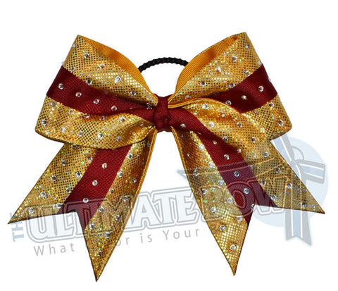 Superior-rhinestone-intensity-cheer-bow-currant-maroon-gold