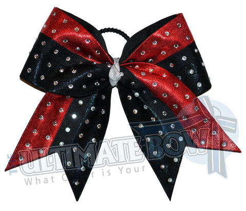 Superior-rhinestone-intensity-cheer-bow-red-black