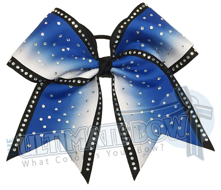 rhinestone-ombre-effect-rhinestone-royal-blue-white-black-cheer-bow-cheer-camp-sideline