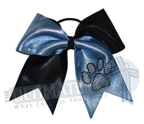 superior-rhinestone-paw-print-black-columbia-blue-cheer-bow