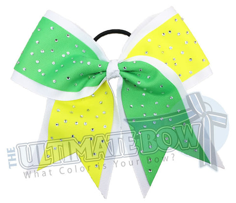 Summer-camp-sideline-sparkling-rhinestone-bow-cheer-softball-white-neon-green-ansi-yellow