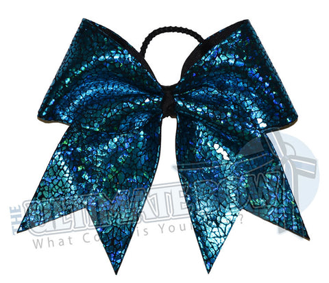 turquoise-seaglass-holographic-cheer-bow-black-avatar