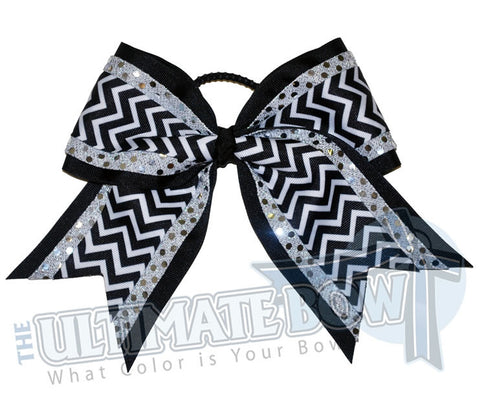 superior-sequin-chevron-silver-black-cheer-bow