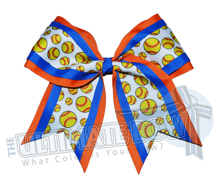 softball-player-hairbow-orange-electric-blue-gators