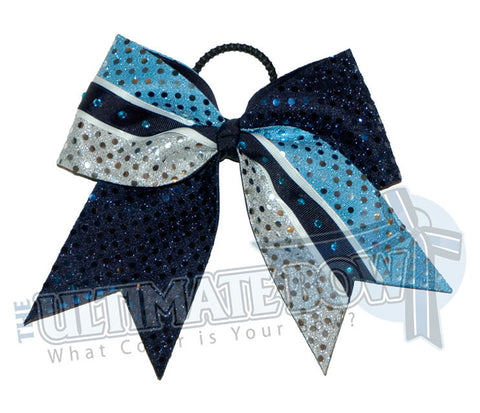 superior-sparkle-stripe-navy-copen-silver-sequins-rhinestone-cheer-bow