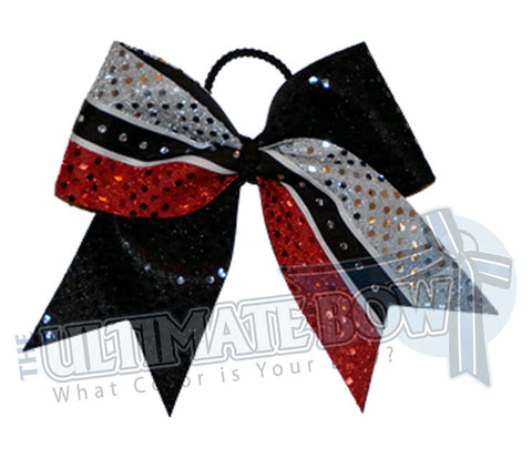 superior-sparkle-stripe-black-red-silver-sequins-rhinestone-cheer-bow