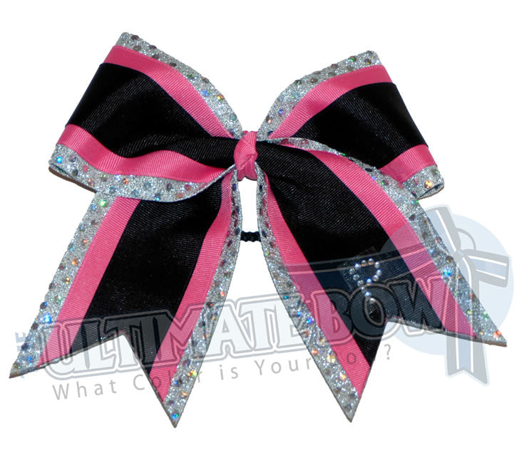 superior-spirit-sparkle-rhinestone-personalized-monogrammed-cheer-bow-silver-pink-black