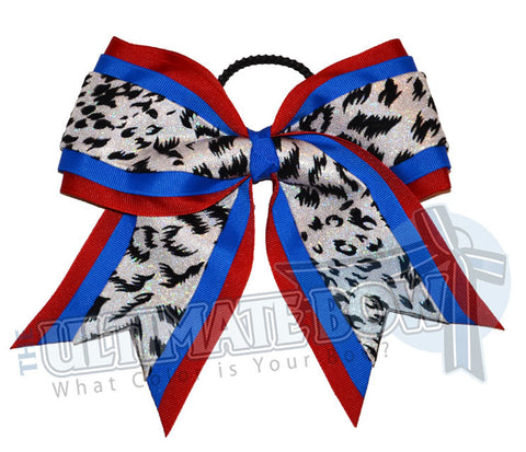 superior-spirited-leopard-red-electric-blue-white-holographic-snow-leopard-cheer-bow