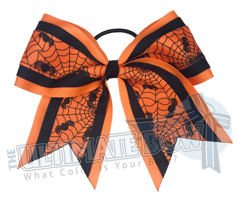 Spooky-spider-texas-sized-Halloween-cheer-bow-softball-bow-holiday-hair-bow