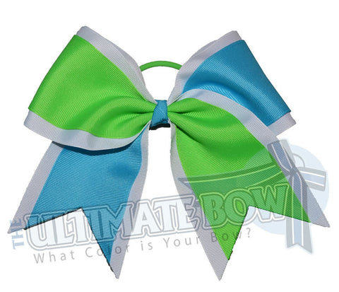Superior-summer-splits-white-neon-green-turquoise-white-cheer-bow