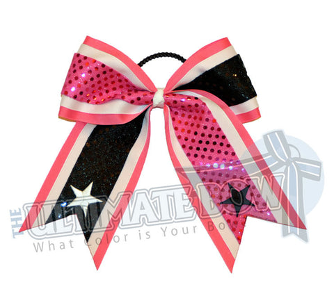 superior-tail-2-sequins-stars-hot-pink-black-sequin-dots-white-stars-cheer-bow