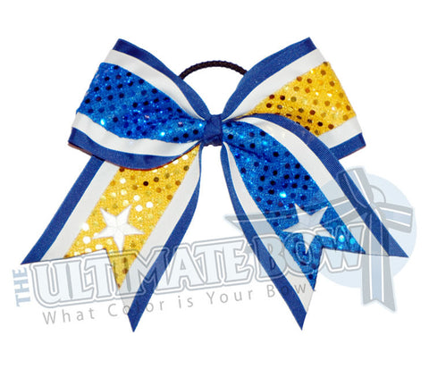 superior-tail-2-sequins-stars-royal-blue-yellow-gold-sequin-dots-white-stars-cheer-bow
