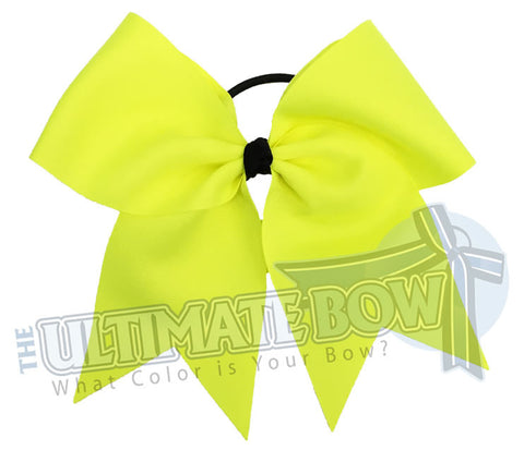 Plain-ansi-yellow-neon-cheer-bow-superior-big-try-outs