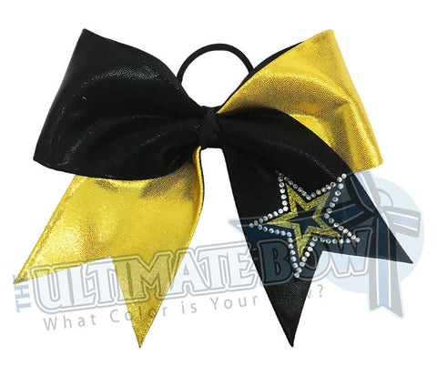 Superior Twinkling Star | Mystic Cheer Bow | Stars Competition Cheer Bow