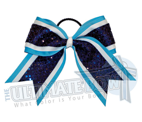 superior-vibrant-sequins-cheer-bow-columbia-copen-blue-white-navy-sequin-dots