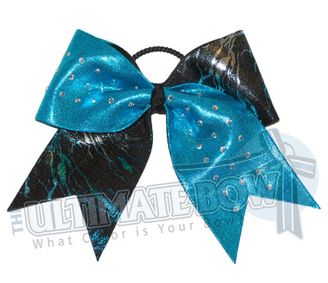 supersonic-explosion-turquoise-mystic-black-silver-cheer-bow