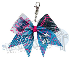 The ONE Cheer and Dance Finals | The ONE Glitter Key Chain Bow | The ONE 2021 | Special Events Keychain Bow