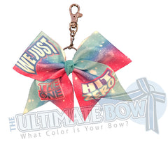 The ONE We Just Hit ZERO Exclusive Glitter Key Chain Bow 2021