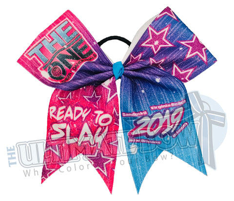 The-ONE-Cheer-Dance-Finals-Cheer-Bow-Glitter-event-bow-exclusive-2019