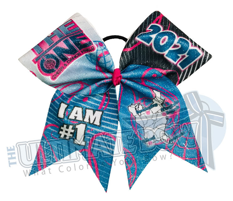 The ONE Cheer and Dance Finals | 2021 The ONE Event Glitter Cheer Bow | Special Event Bow