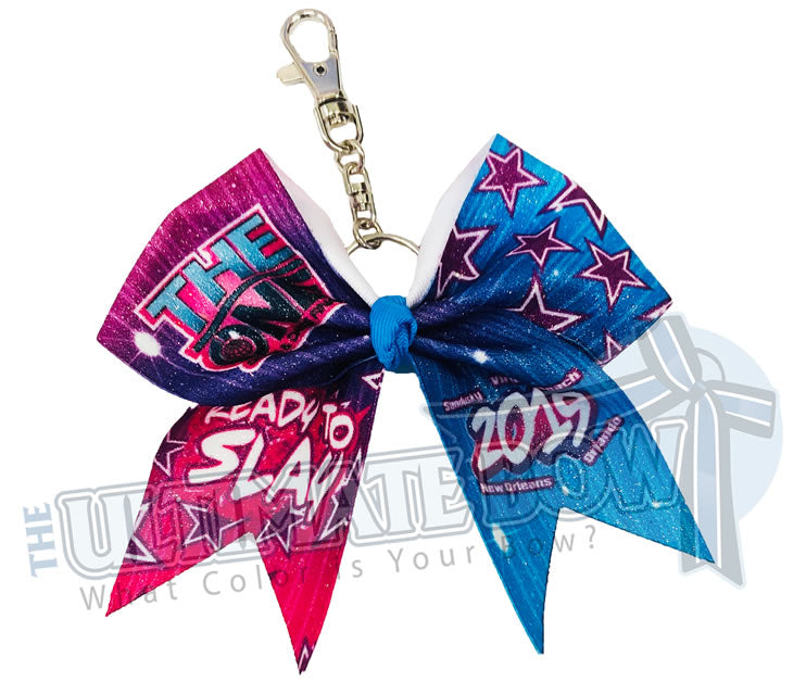 The One Finals - Glitter Keychain - Key Chain Bow - The ONE - I Am The One - 2019
