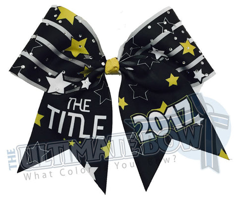 The TITLE- Rhinestone Bow - 2017 Exclusive Event Bow