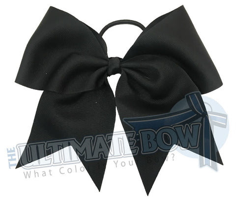 Plain-big-black-cheer-bow-superior-big-try-outs-cheerleading-bows