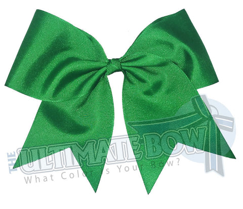 Plain-big-emerald-kelly-green-cheer-bow-superior-big-try-outs-cheerleading-bows