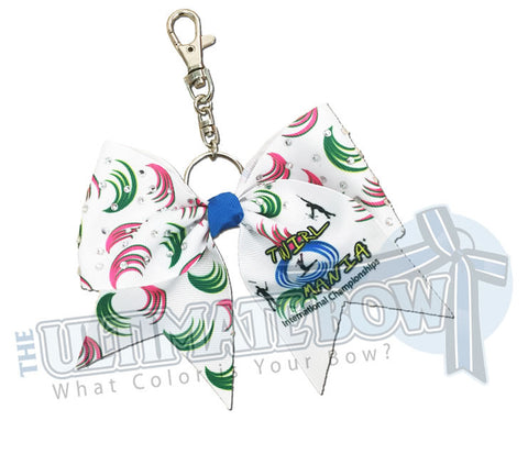 Twirl Mania 2017 Exclusive Keychain Bow