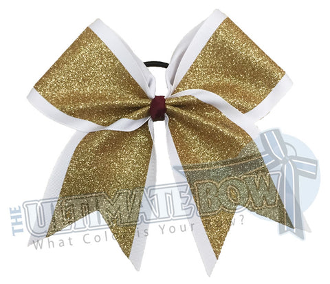 Ultimate Glitter Cheer Bow