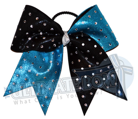 Ultimate Rhinestone Twist | Mystic Competition Bow | Rhinestone Cheer Bow