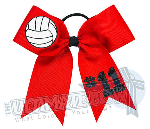 Volleyball Player Hair Bow | Volleyball Hair Bow