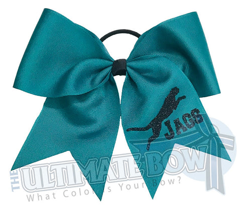 We are Jaguars Cheer Bow