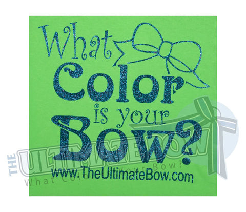 What Color is your Bow T-Shirt